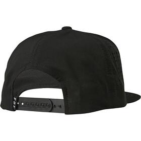 Fox Crest Snapback Cap Heren, black